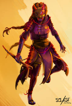 Susano - Sclash character illustration