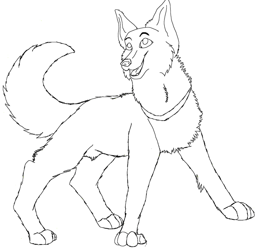 Line Art Dog : Dog lineart free to use by twixxbar on deviantart