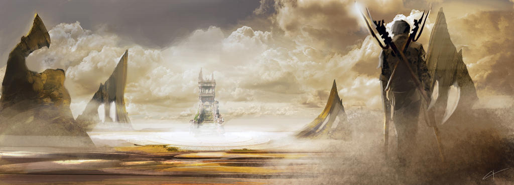 Desert land by lucachirivi