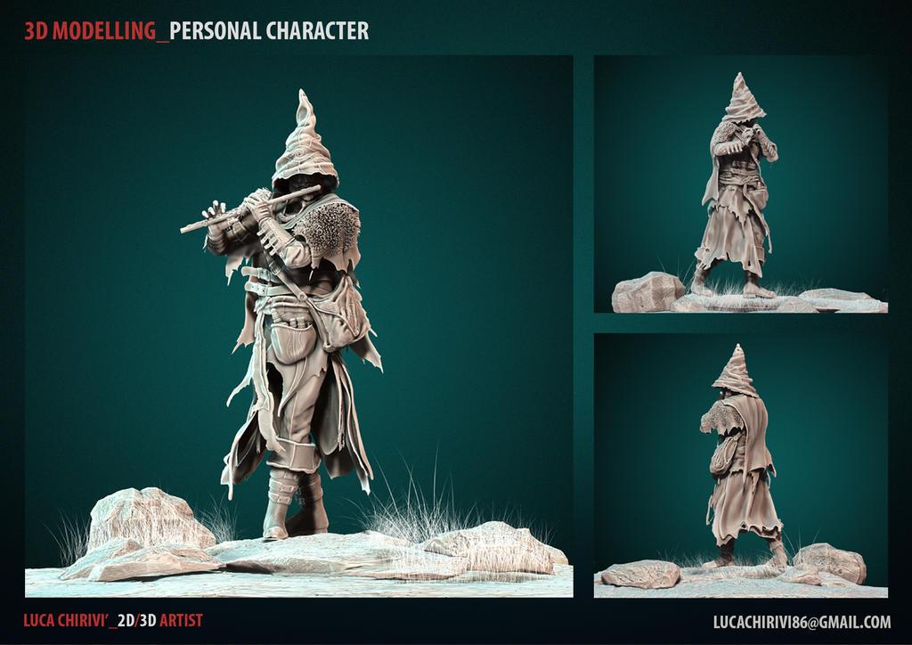 3D modelling by lucachirivi