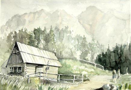 watercolour by arturf