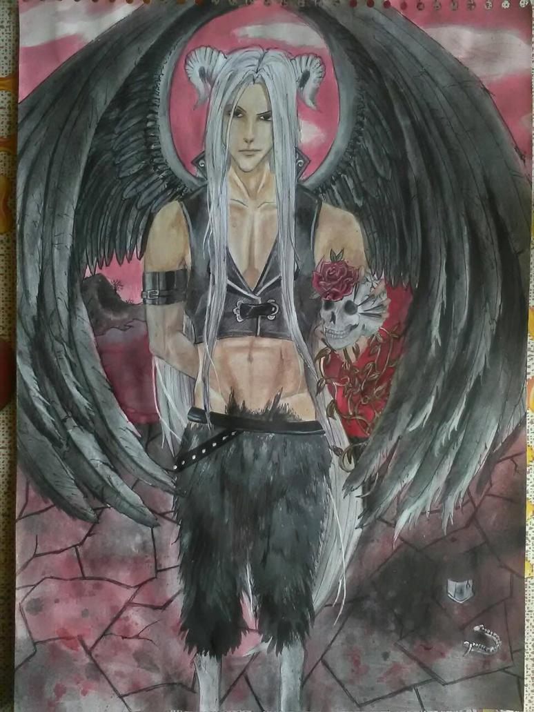 Demon/ black angel by ElenaChiyan