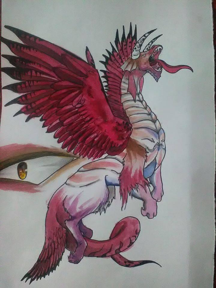Dragon by ElenaChiyan
