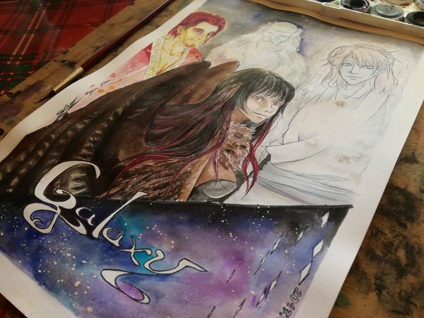 Galaxy, the story.. by ElenaChiyan