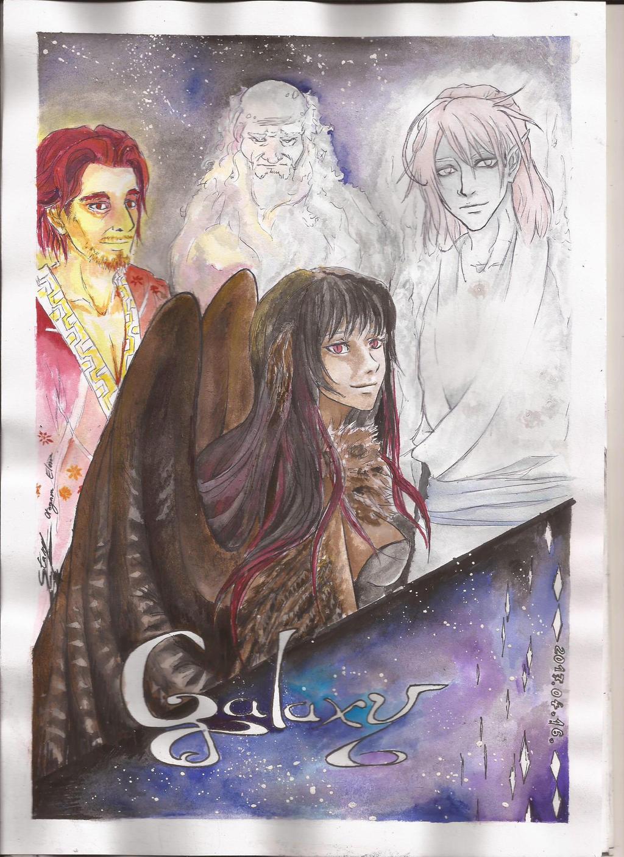 Galaxy, the story... by ElenaChiyan