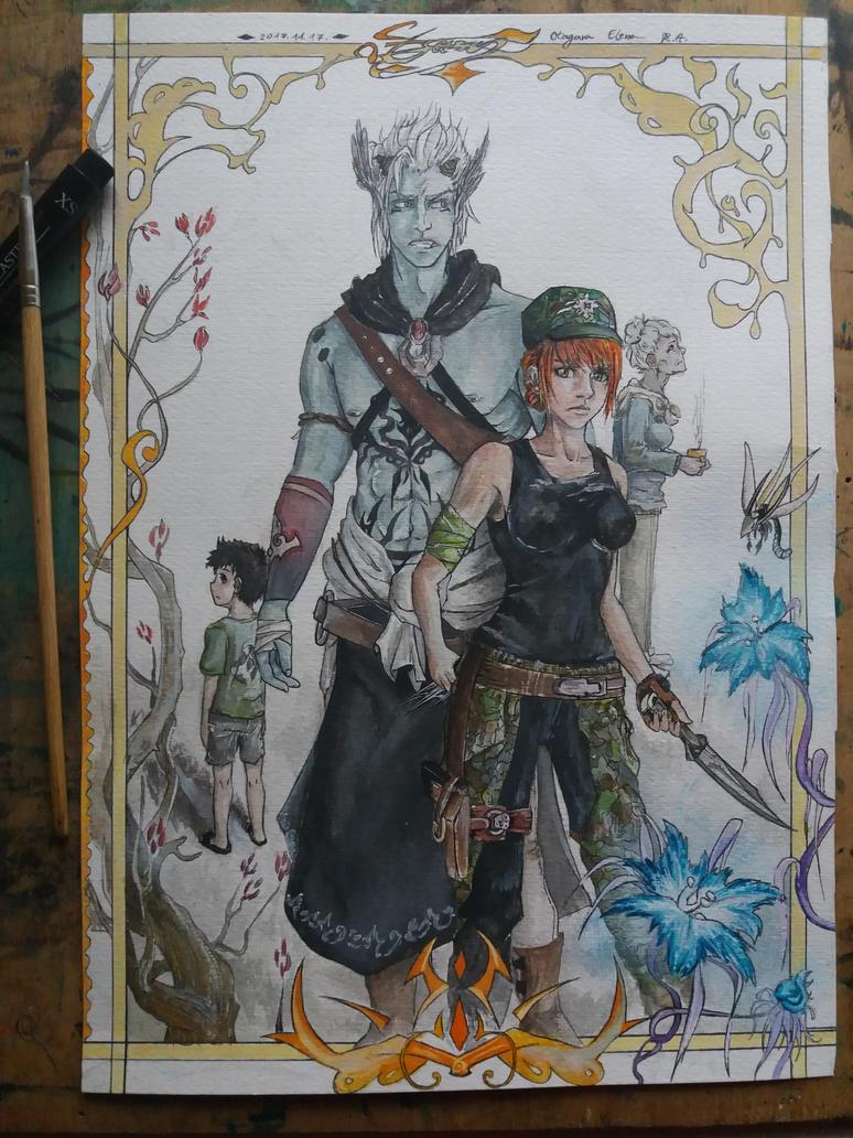 Garbutt characters by ElenaChiyan