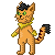 Mittens Pixel Icon by Malla123