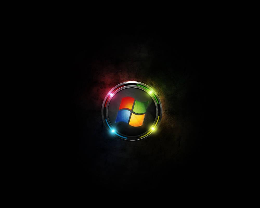 Futuristic Windows wallpaper by m1r1