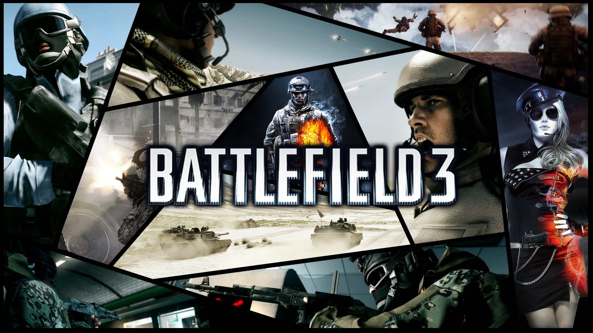 Battlefield 3 SplitScreen by DeCLaRcK