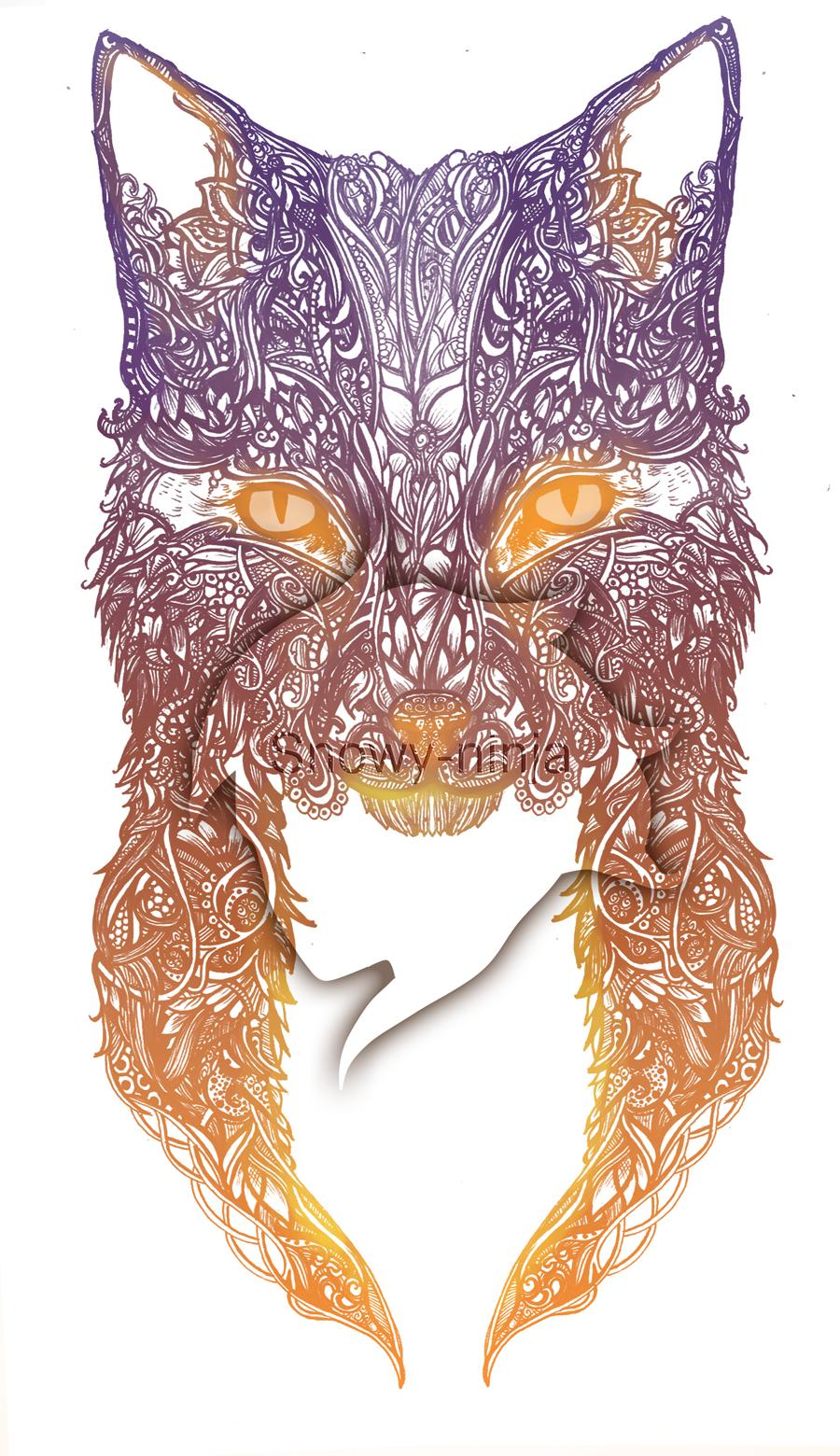 Red Fox by Snowy-Ninja