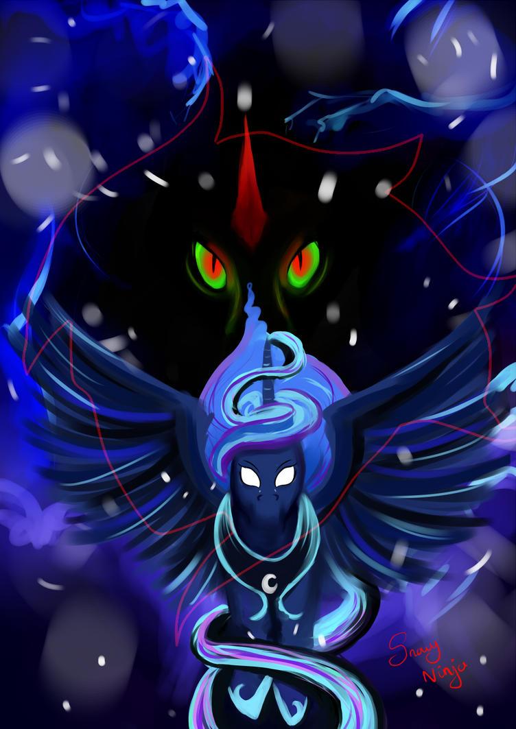 Luna's Nightmare by Snowy-Ninja