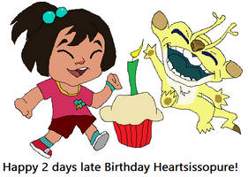 Happy Birthday 2 days late Heartissopure