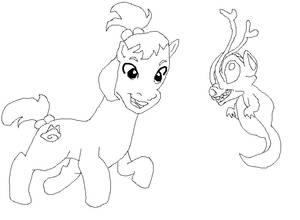 My little dragon, I'm Ai the pony