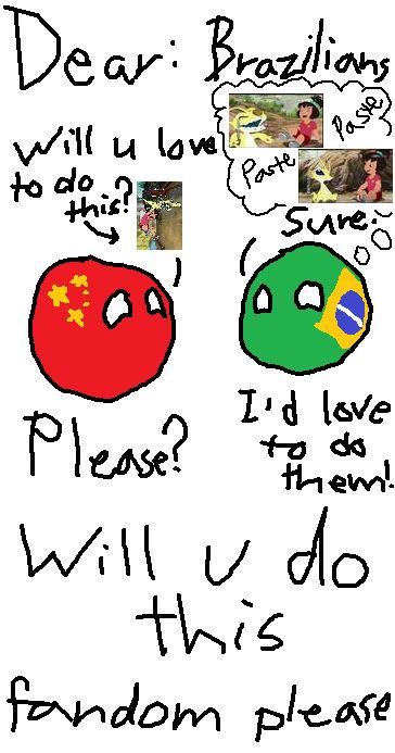 A message for DA Brazilians