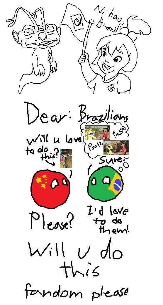 I need ur help Brazilian cartoon-Disney fans