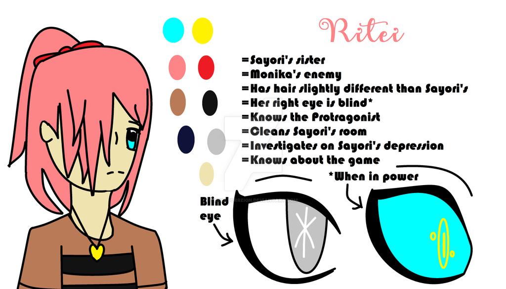 Ritei - My DDLC OC! (Character Sheet) by CreatorReign on DeviantArt