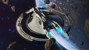 Traversing the asteroid belt