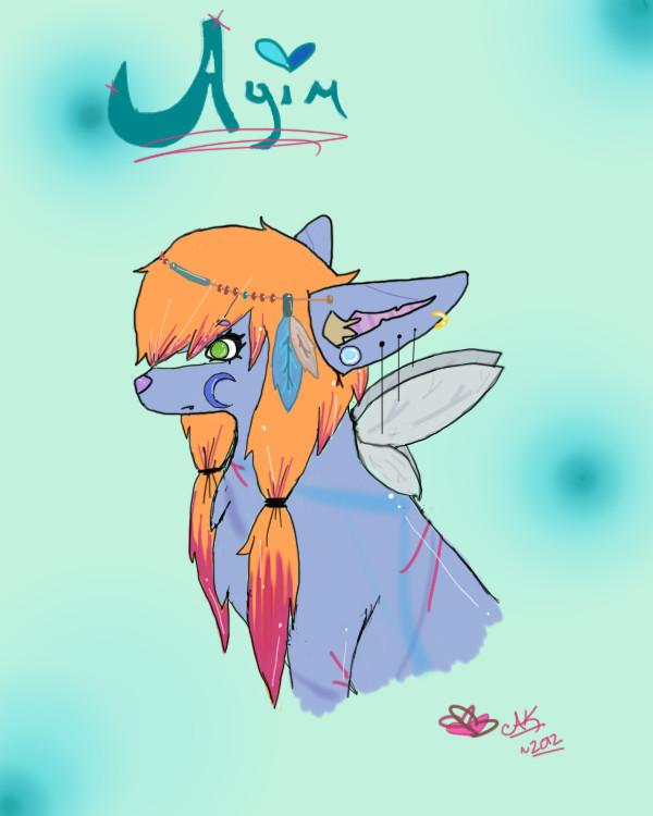 Ayim bust by RainbowAurora