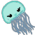 Jellyfish Icon by RainbowAurora