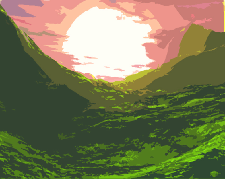 Random sunset by Esgarblackpox