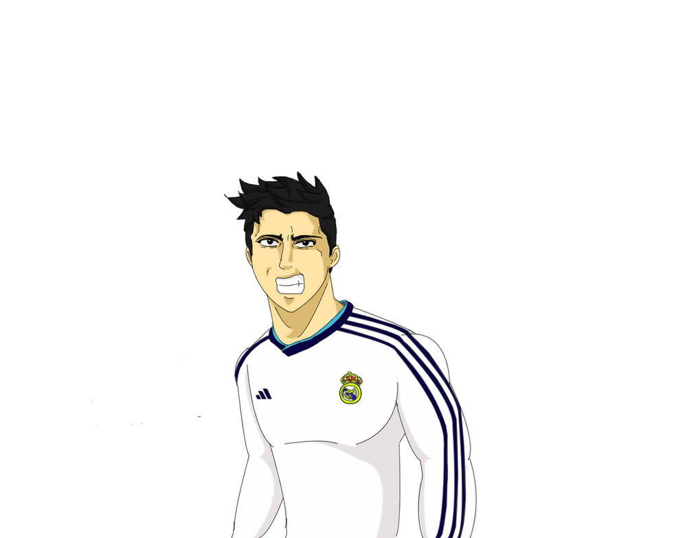 Cristiano Ronaldo Anime Version by ferkun10 on DeviantArt
