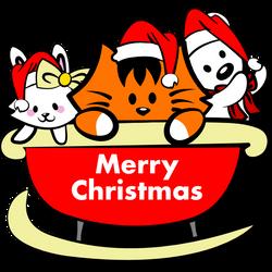 KikiMoji Cute Christmas Sticker number 26