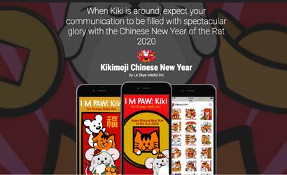 Kikimoji Christmas Love 7th Sticker Pack IOS App