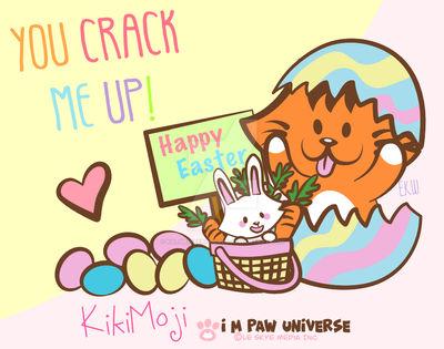 You Crack Me Up KikiMoji Easter 2021