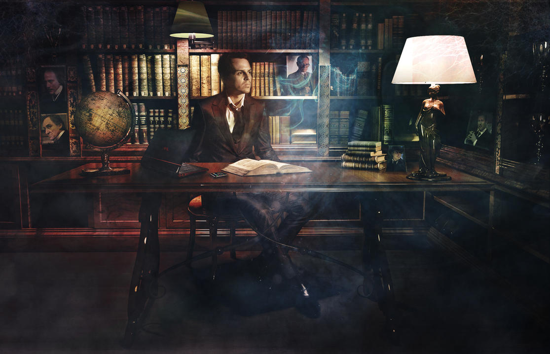 Moriarty by transparentbird