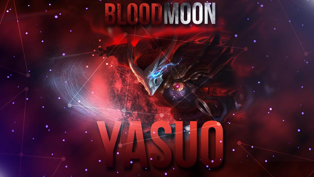 beast blood moon yasuo wallpaper - photo #8