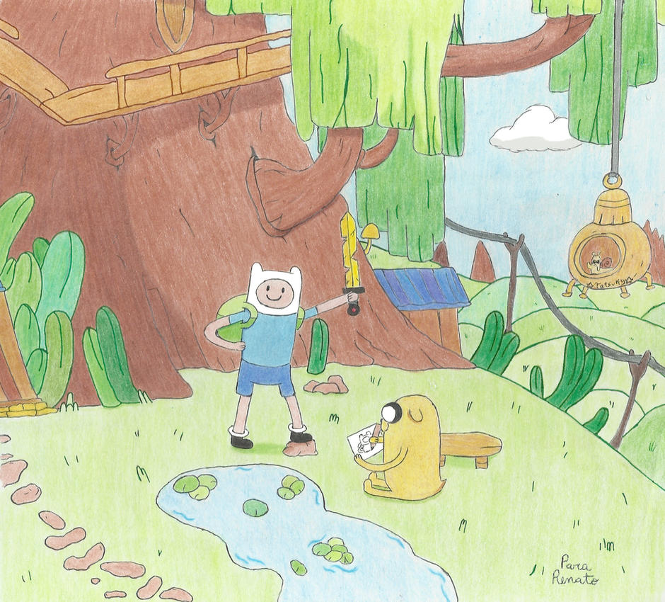 Adventure Time - Very special request by Umi-Tatsuky