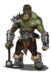 Orc by Z-Crackers