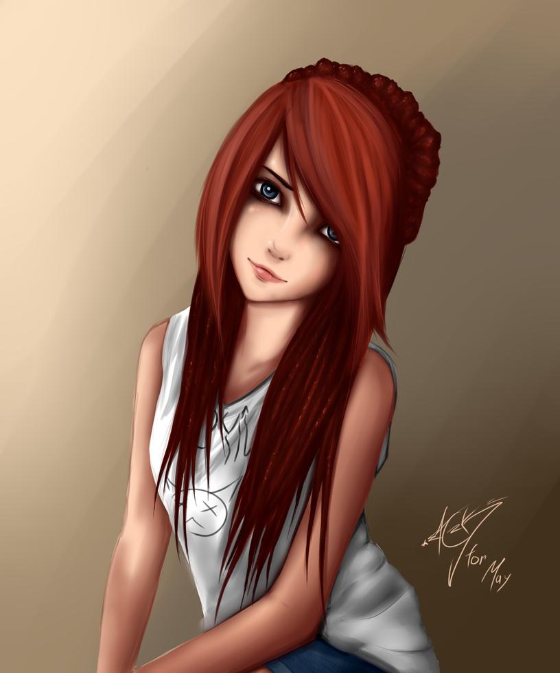 Just a girl by ZackArgunov