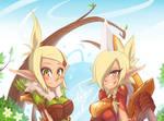 Eva and Cleo [Wakfu]