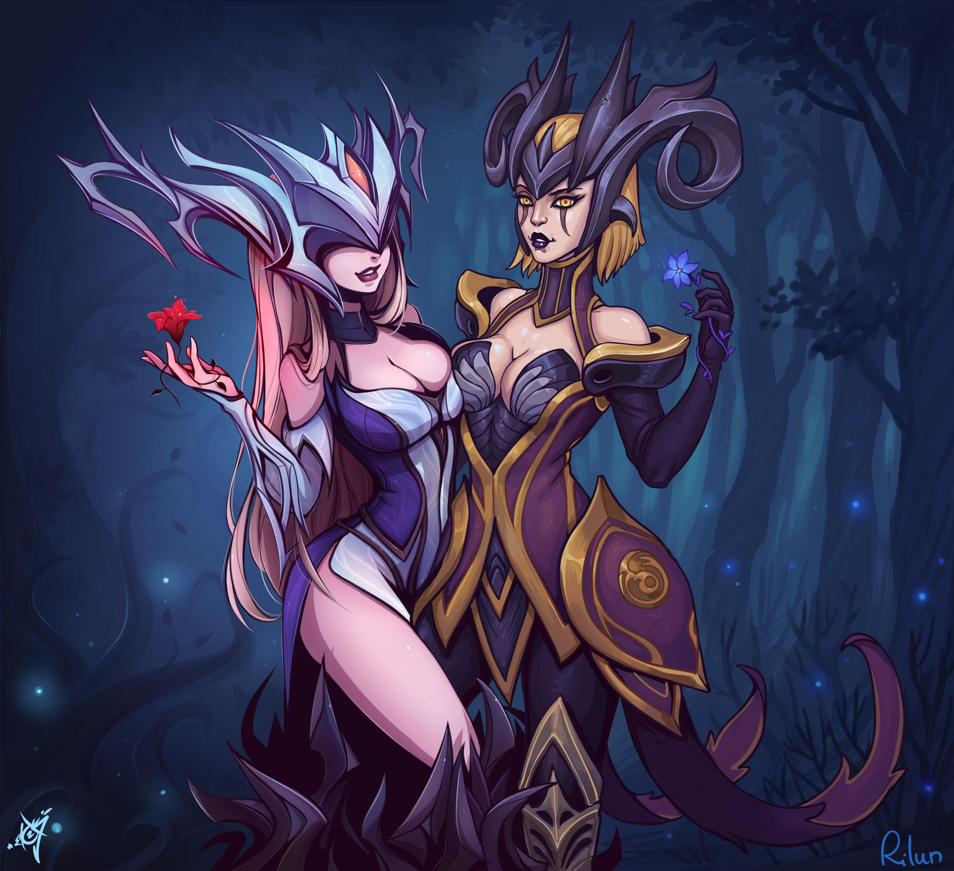 Coven Lissandra and Camille [League Of Legends] by ...