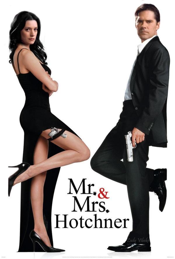 Mr and Mrs Hotchner by Lady-Vibeke