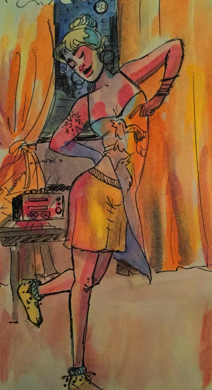 dance the night away by lLiar