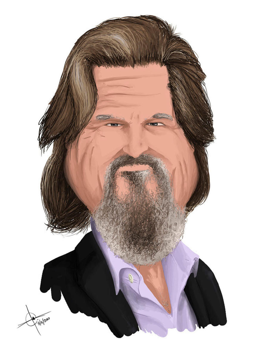 jeff bridges by ~sarertnoc on deviantart