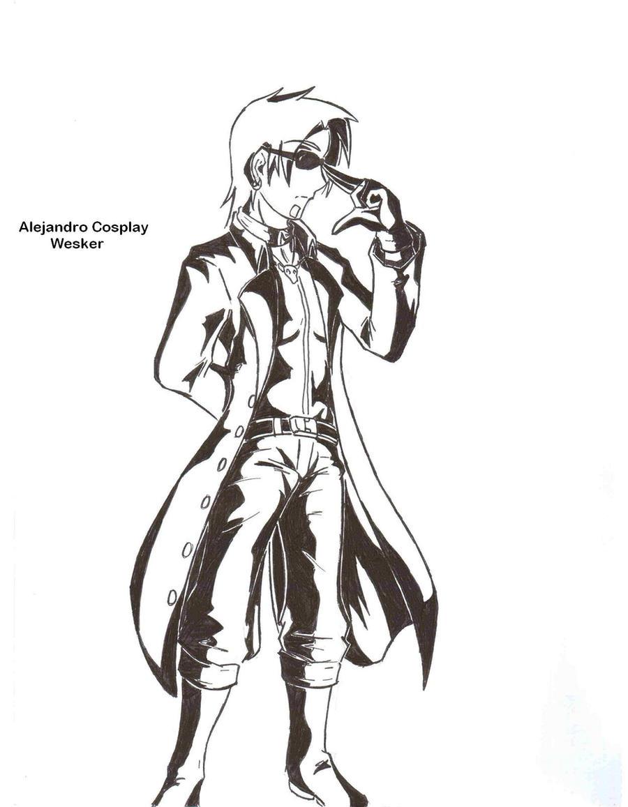 Total Drama Cosplay Alejandro by NayaaseBeleguii