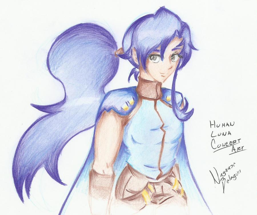 Human Luna Concept by NayaaseBeleguii