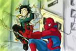 Spiderman And Deku
