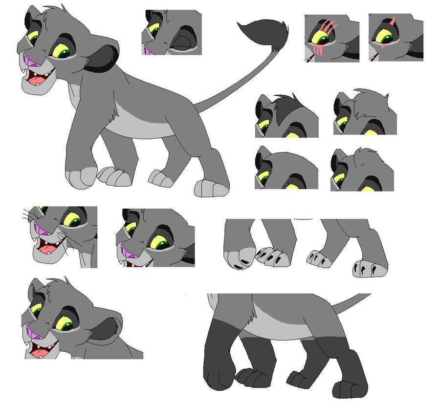 Lion King Base 4 By PinkyPhantom On DeviantArt