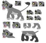 Lion King Base 4 by PinkyPhantom