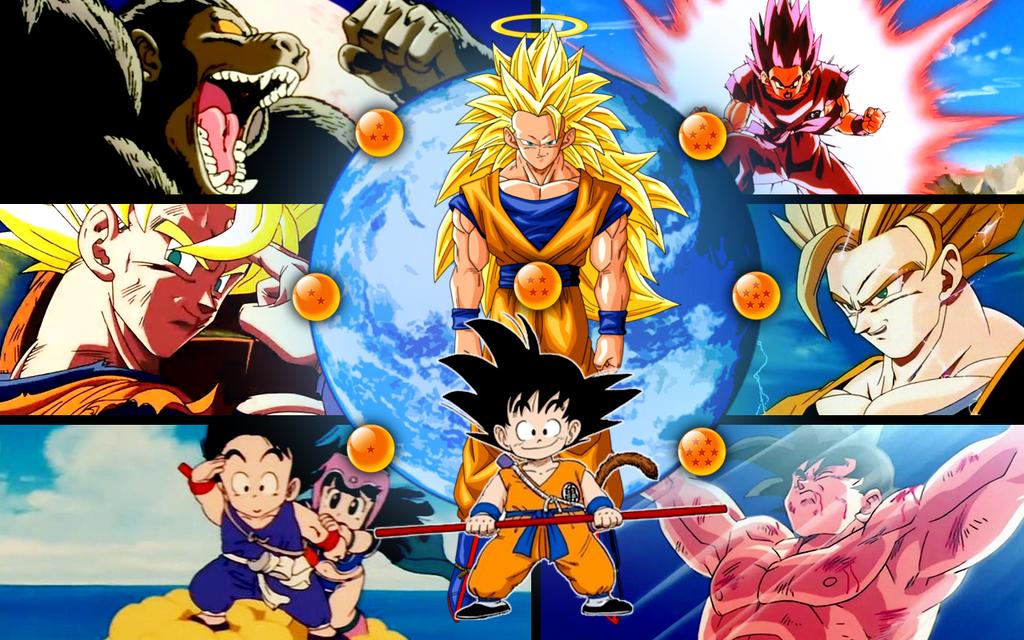 Dragon Ball Z - Evolution of Goku by KoozBane