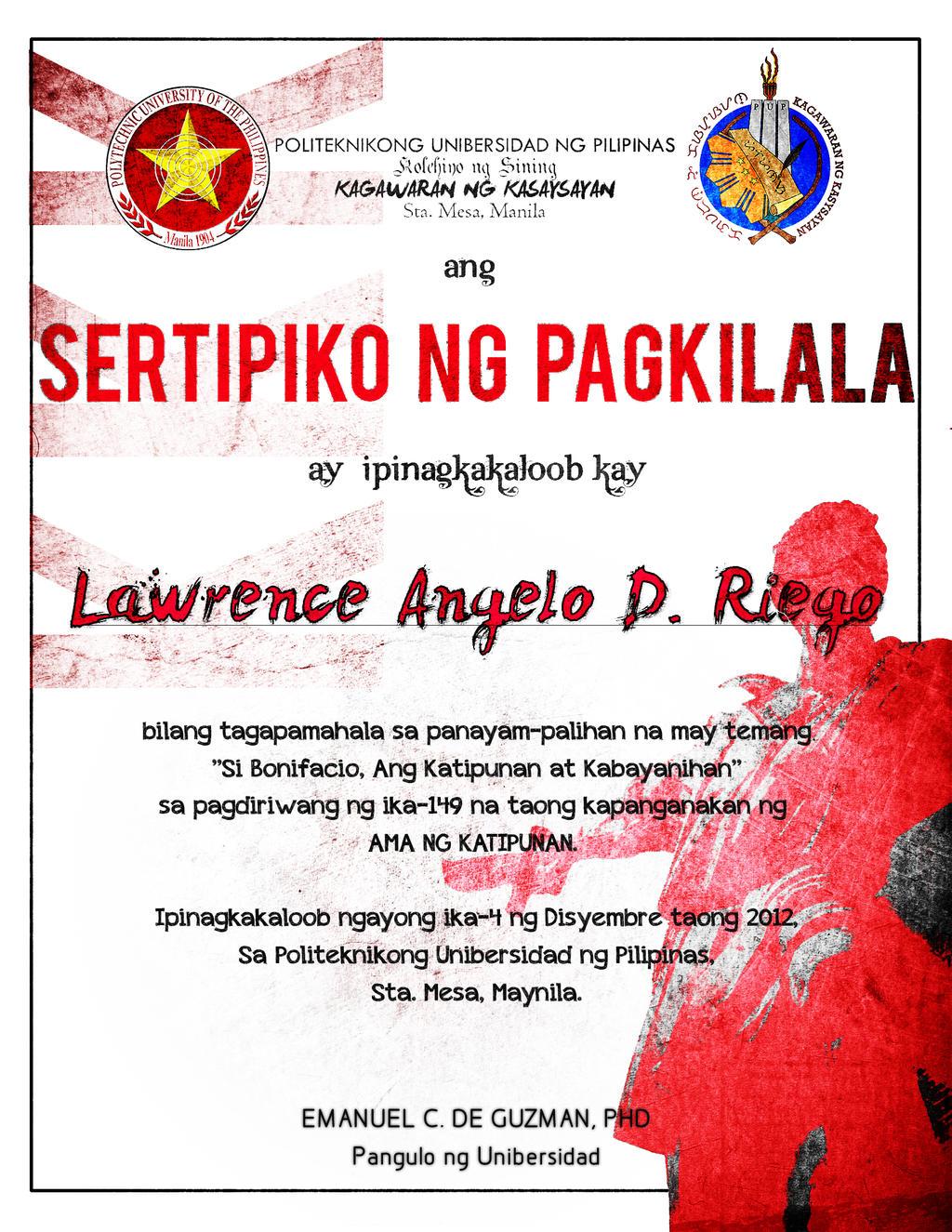 Deklamasyon Sa Filipino Murderess Filipino Translation