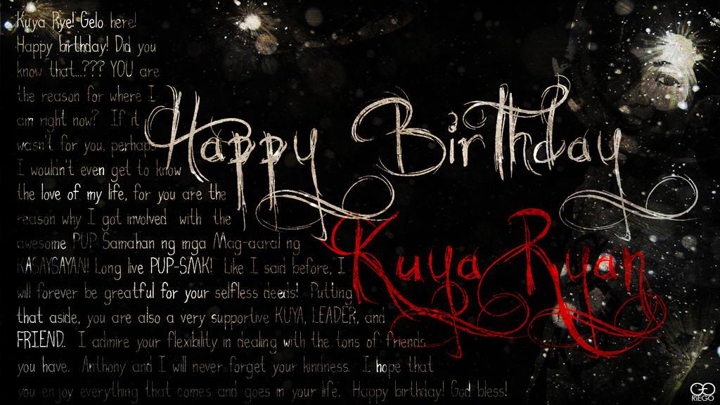 Happy Birthday Images For Kuya