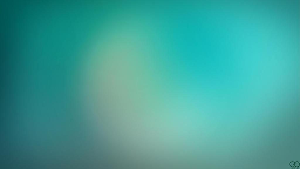 Blurry Cool Blue-Green Wallpaper by darkchronix95