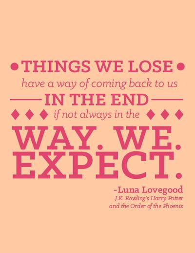 Luna Lovegood Quotes Gorgeous Luna Lovegood Quote By Darkchronix48 On DeviantArt