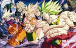 Dragon Ball Z Batalla Ardiente Promo Art