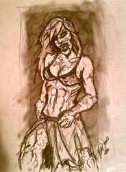 Werewoman. by MsTwennyFaahve